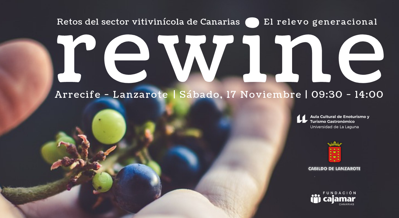 Universidad de La Laguna y Cabildo organizan el encuentro 'REWINE: Retos del sector vitivinícola de Canarias, el relevo generacional'