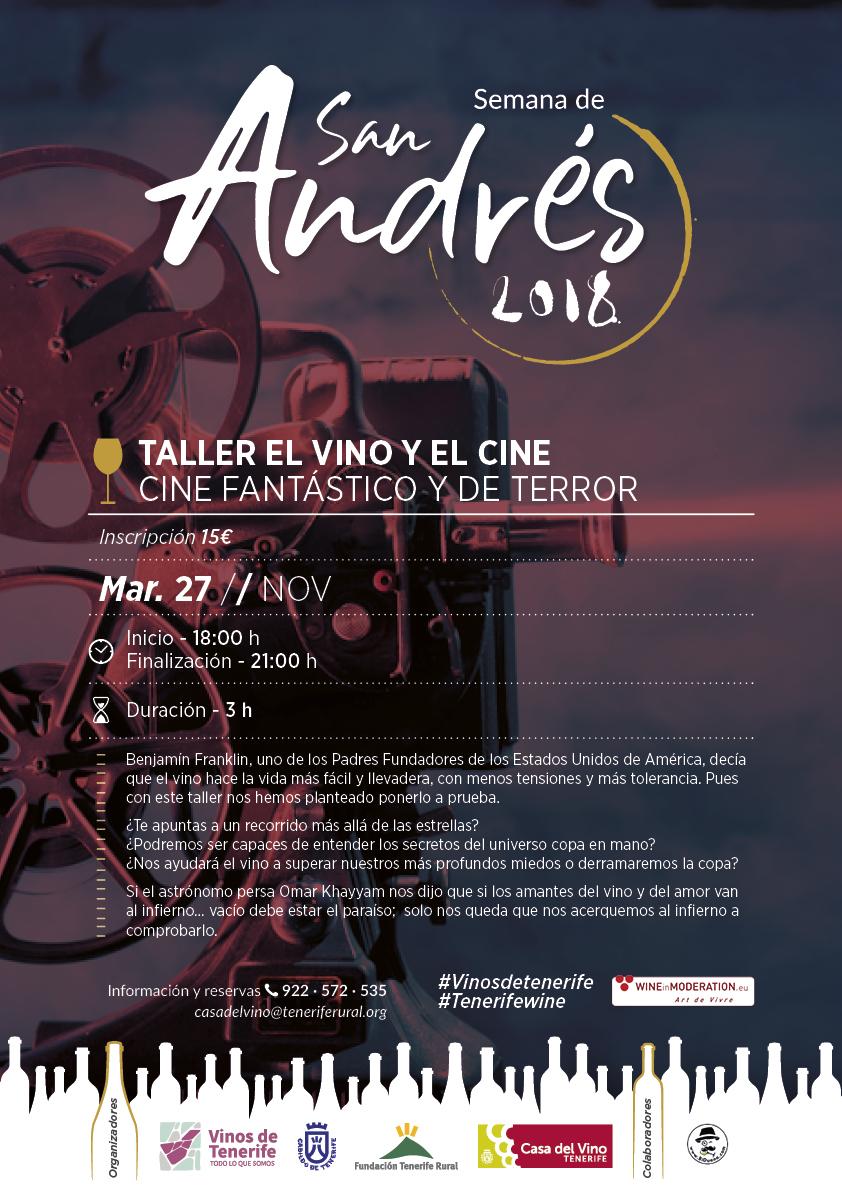 El Vino de Tenerife y el Cine: Cine Fantástico y de Terror