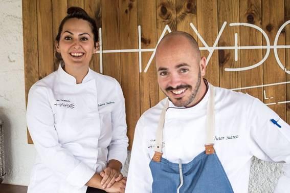 Víctor y Laura Suárez reconfortan el invierno Haydée '18 con platos y guisos de fina suculencia y cromáticos postres renovados en su nueva carta