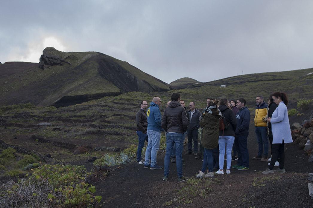 Alumnos de la Universidad de La Laguna visitan la Denominación de Origen de Vinos El Hierro