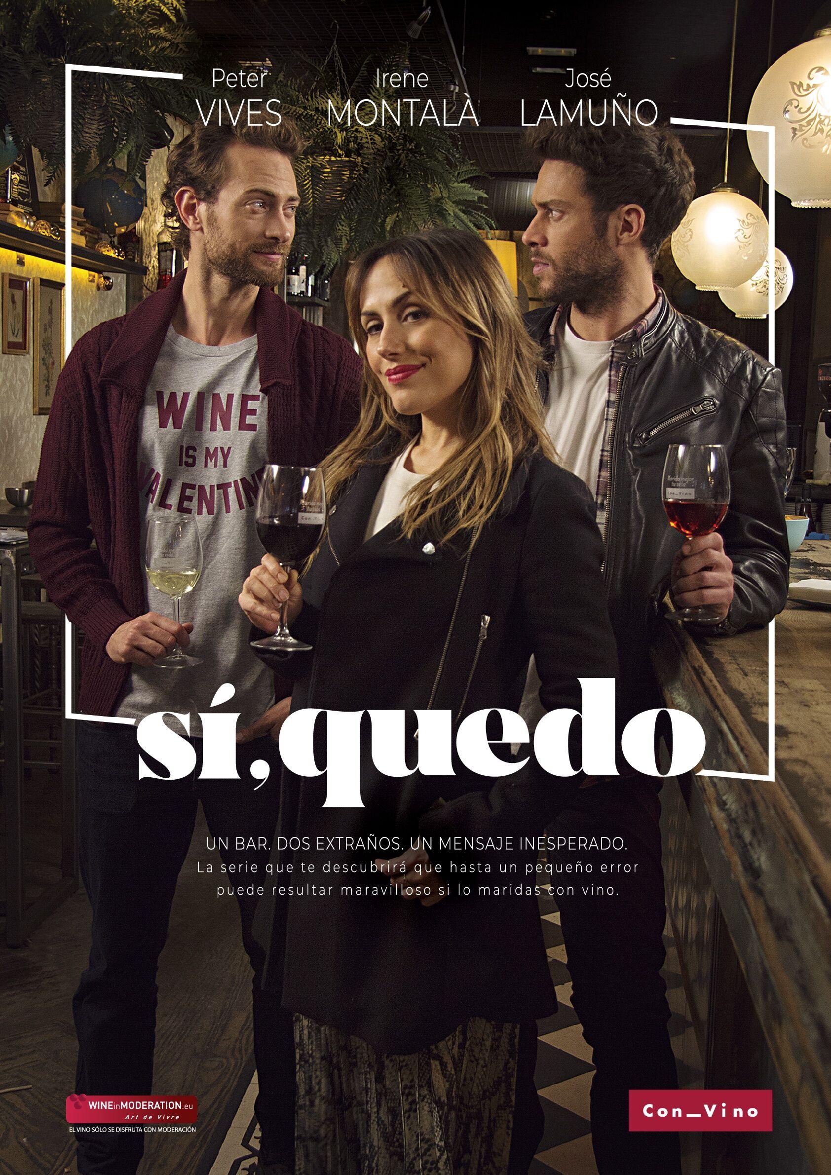 """""""Sí, quedo"""", la nueva serie digital de OIVE con el vino como protagonista"""