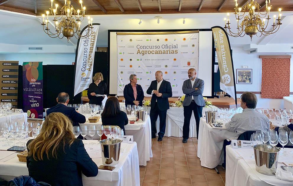 64 vinos se cataron en la segunda fase del Concurso Agrocanarias que se celebró en La Gomera