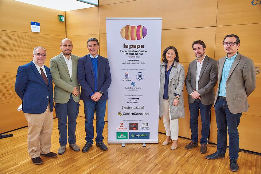 El II Foro Gastronómico de la Papa reunirá en Tenerife a cocineros y expertos nacionales e internacionales