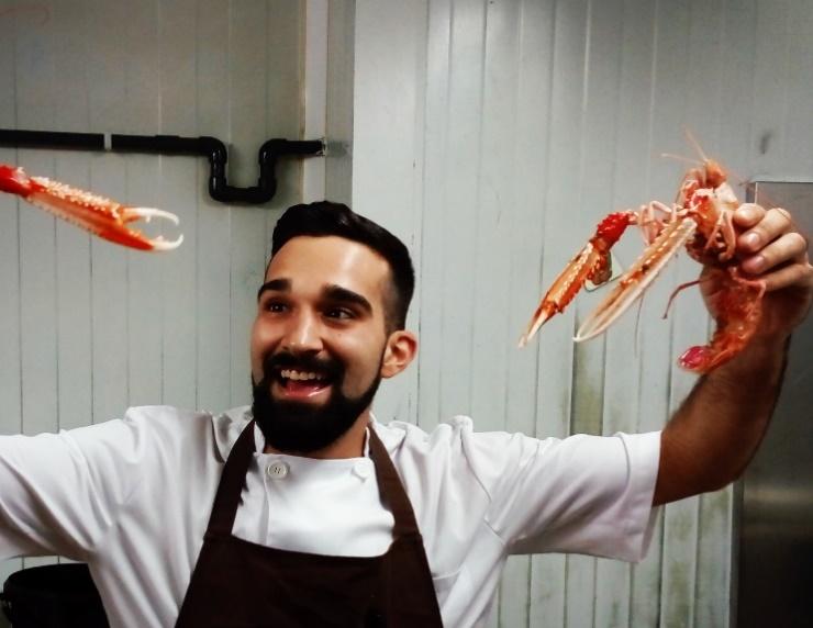 Andana Restaurant (Puerto de la Cruz, Tenerife) celebra la tradición de la Semana Santa poniendo en carta las nuevas y radiantes propuestas de pescado del chef Óscar Padrón