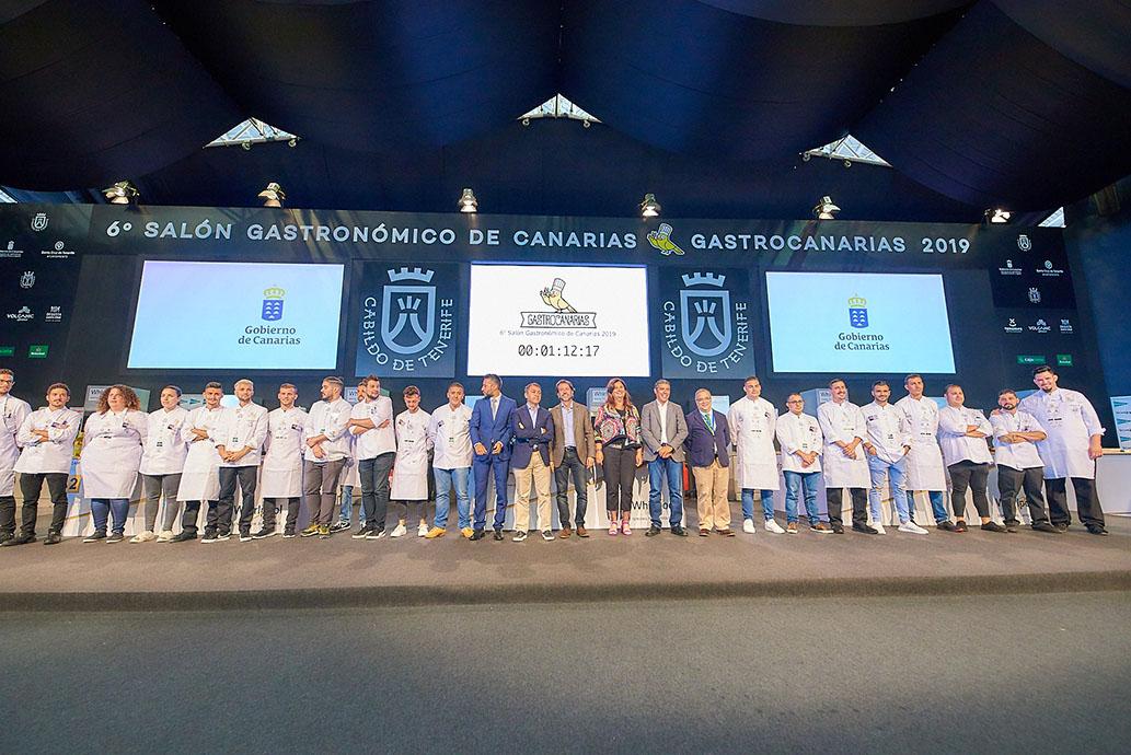 Tenerife se convierte esta semana en la capital de la gastronomía y la restauración
