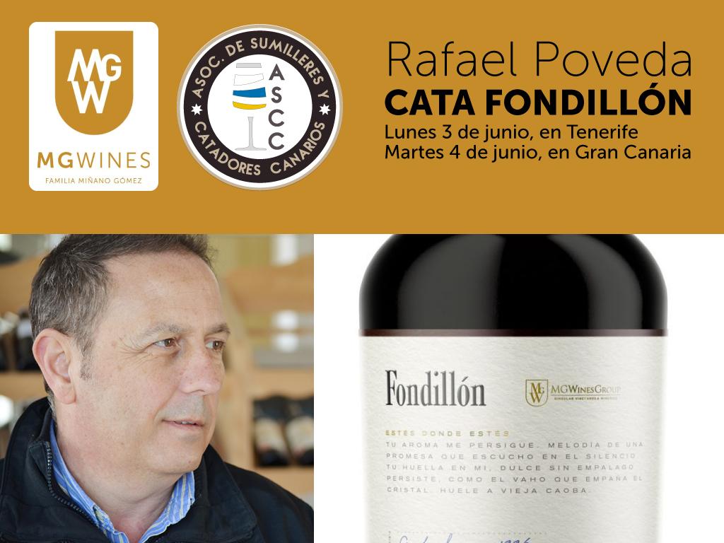Cata de Fondillón, por Rafael Poveda