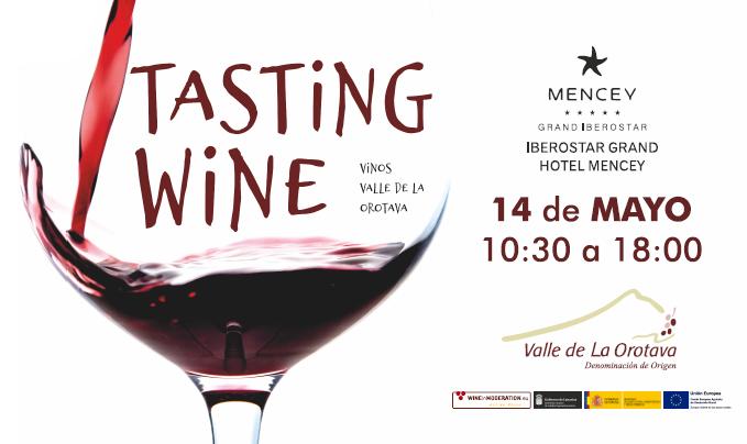 La segunda edición de 'Tasting Wine' Vinos Valle de La Orotava se celebrará este martes, 14 de mayo