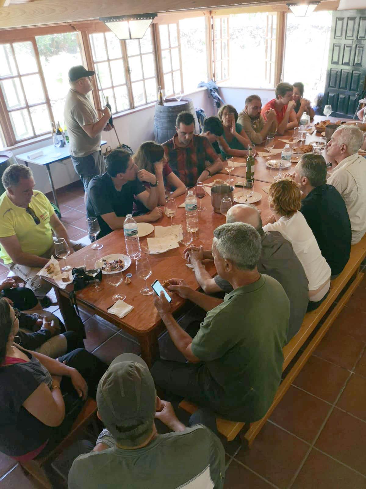 Enosenderismo en Anaga con la DOP Tacoronte-Acentejo