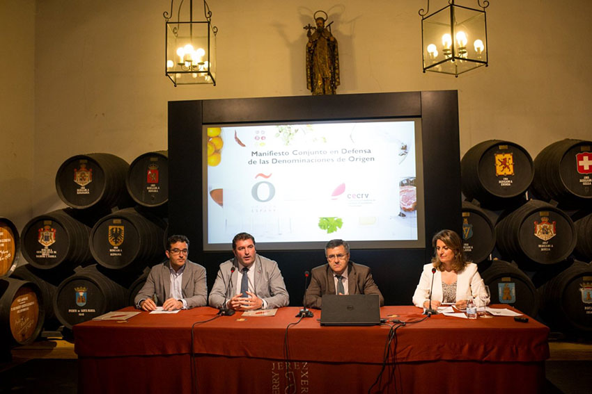 Impulso a las Denominaciones de Origen con el manifiesto firmado por las Asociaciones Origen España y CECRV