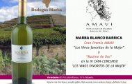 Marba Blanco Barrica, vino favorito de la mujer. Gran Premio AMAVI