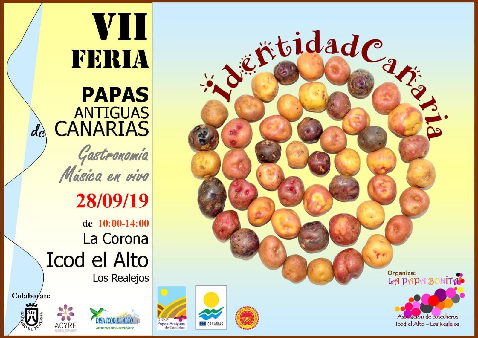 VII Feria de Papas Antiguas de Canarias, 28 de septiembre de 2019 en La Corona, Icod el Alto, Los Realejos