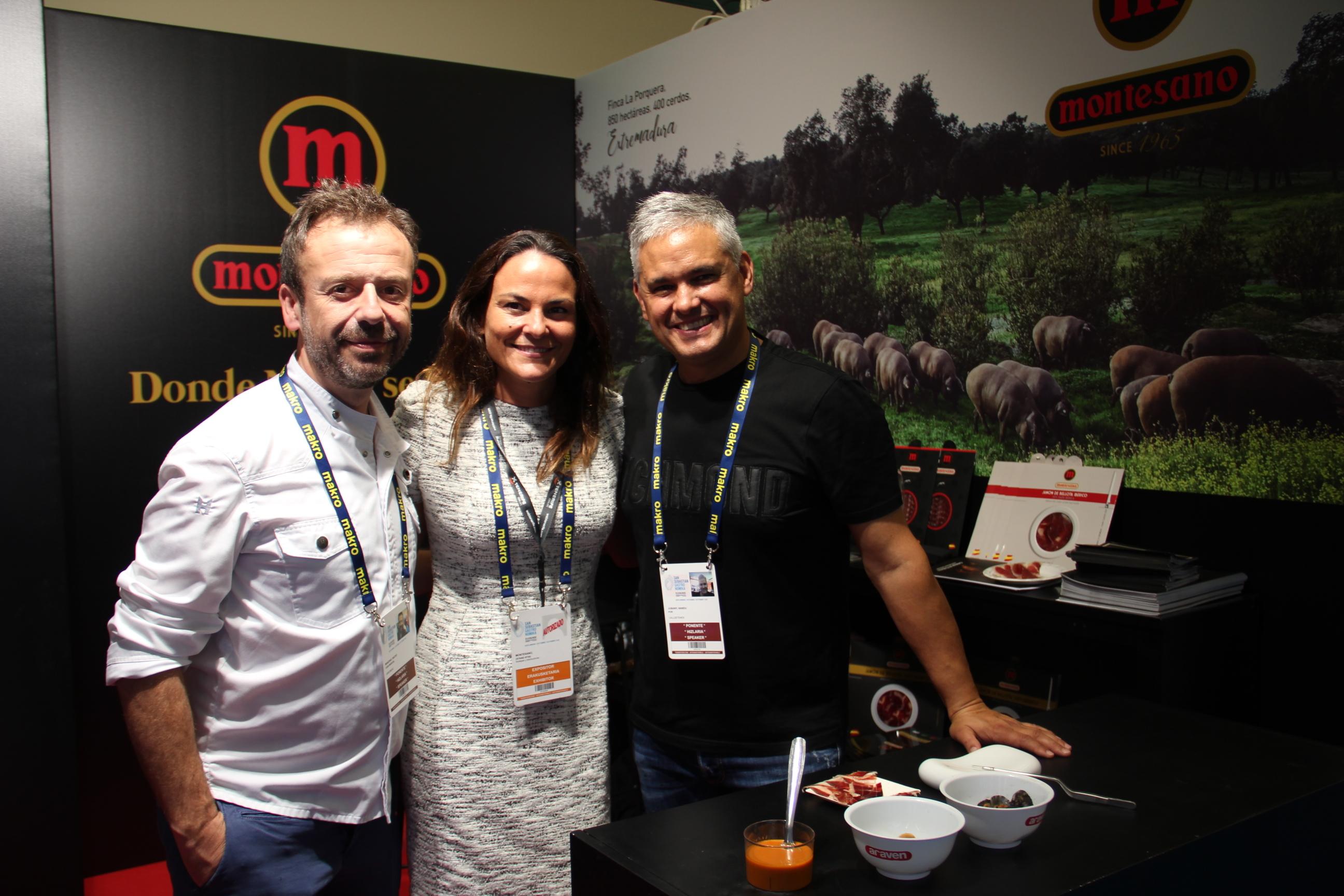 Los ibéricos de Montesano y el chef Nacho Manzano subliman el formato de la tapa durante el I Congreso de Pintxos y Tapas en San Sebastián Gastronomika 19