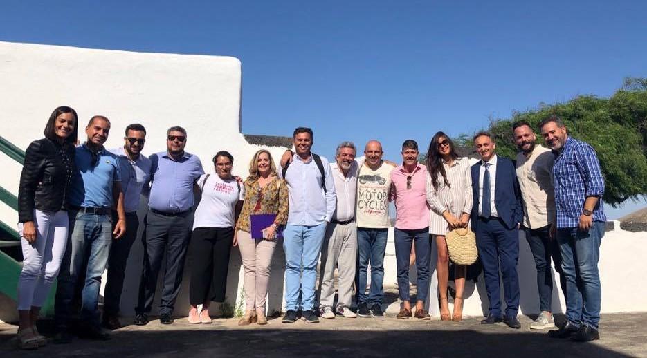 Fuerteventura acoge el octavo encuentro del Clúster de Enoturismo de Canarias