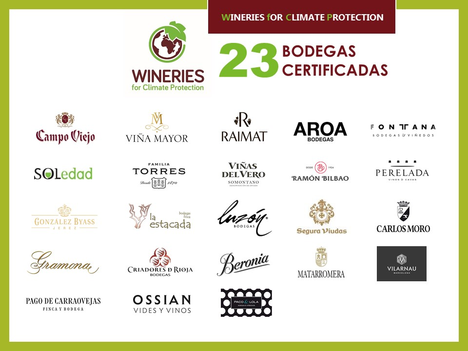Bodegas españolas obtienen el certificado Wineries for Climate Protection