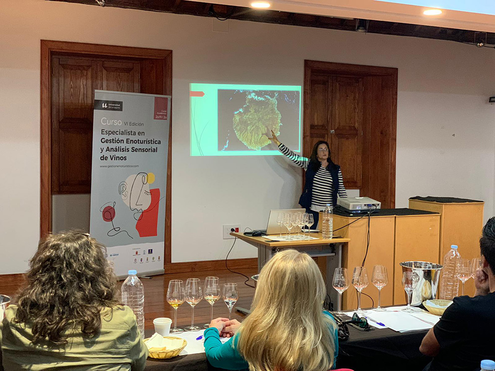 Vinos de Gran Canaria participa en el módulo Análisis Sensorial de Vinos organizado por la ULL