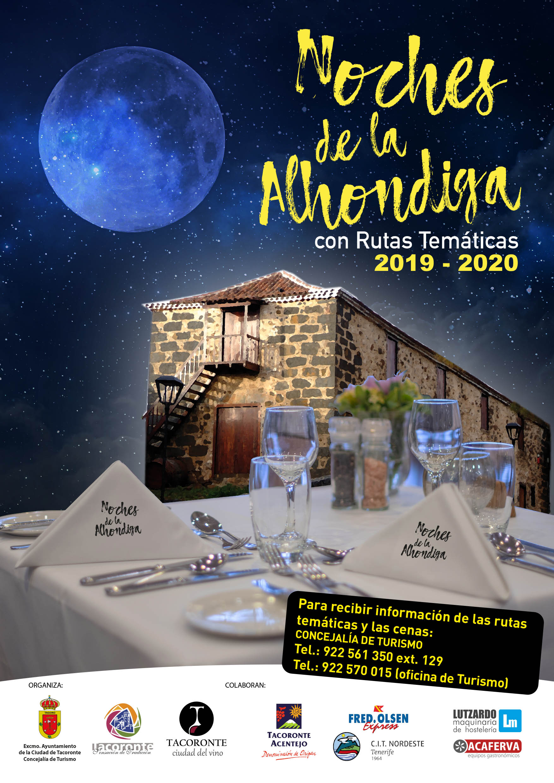 Marba será la bodega protagonista de la próxima jornada de Noches de La Alóndiga, en el municipio de Tacoronte, el jueves 12 de marzo de 2020