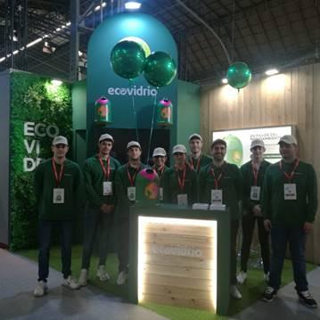 Ecovidrio recoge, para su posterior reciclado, más de 18.000 botellas de vidrio durante la Barcelona Wine Week