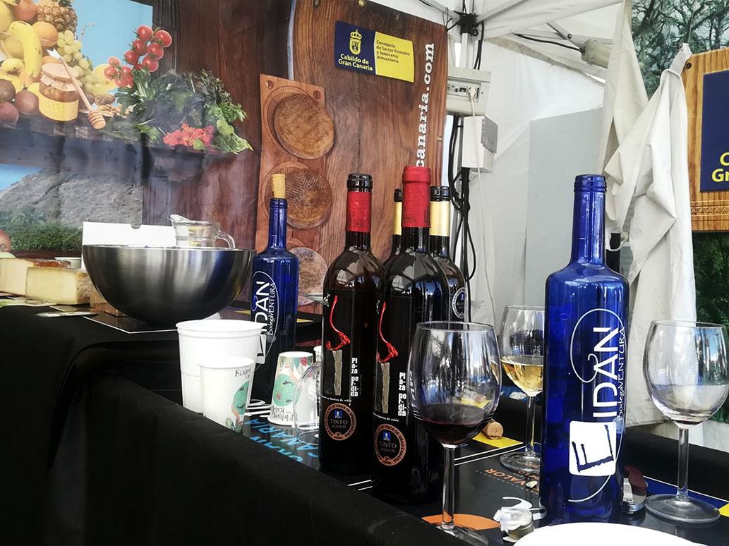 Los vinos de Gran Canaria presentes en la Feria Europea del Queso de Valleseco