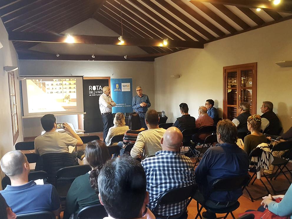 Los agentes implicados en la Ruta del Vino de Gran Canaria se reunieron para sentar las bases del producto turístico