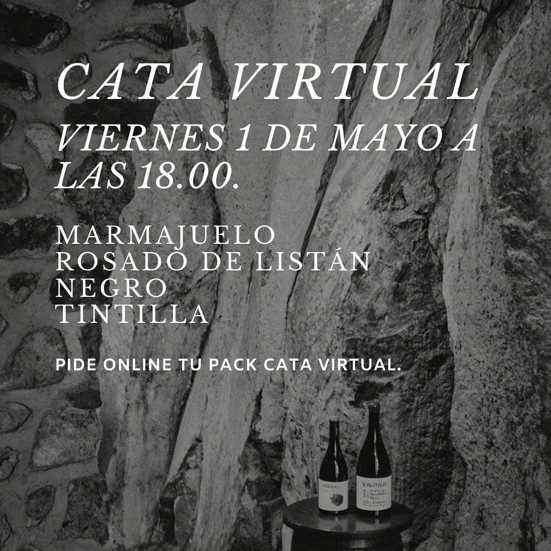 Primera cata virtual de Bodegas Viñátigo, prevista para el 1 de mayo de 2020