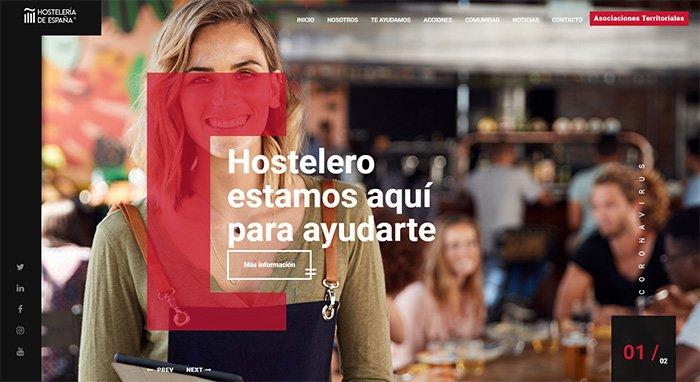 Nueva web al servicio del sector de la hostelería ante el Covid-19