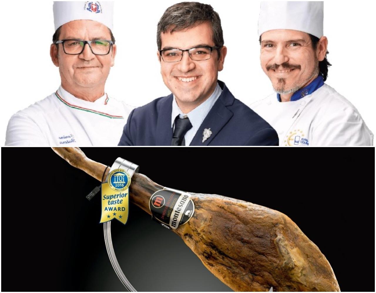 El jamón ibérico 100% bellota de Montesano Extremadura consigue el Superior Taste Award Tres Estrellas '20 del International Taste Institute de Bruselas