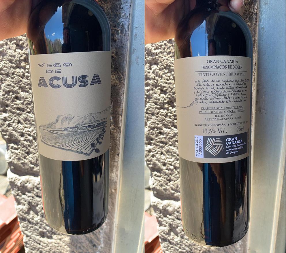 Vega de Acusa, el viñedo que escapó del fuego