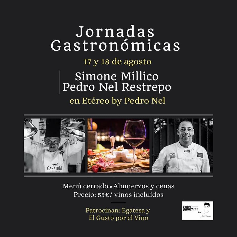 Etéreo by Pedro Nel acerca la cocina italiana clásica a Tenerife con unas jornadas gastronómicas