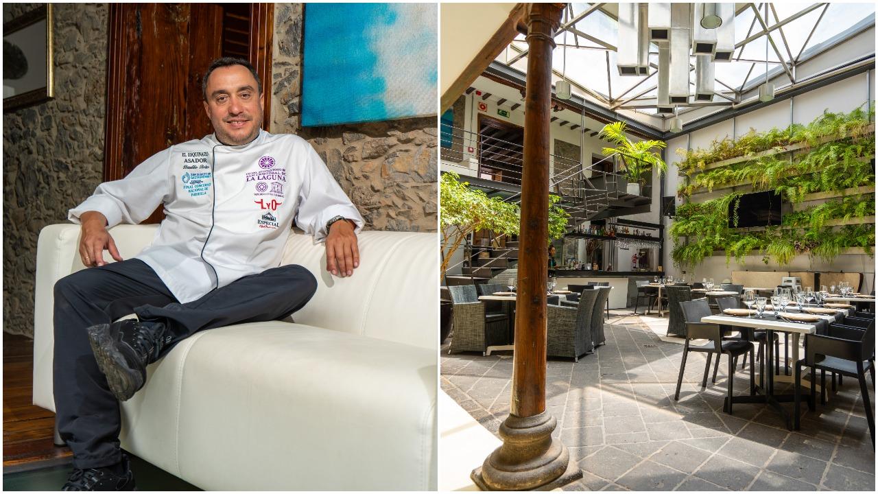 El empresario y chef Baudilio Brito inaugura El Esquinazo Plaza, el primer multiespacio gastro-lúdico de La Laguna en La Concepción, en pleno Patrimonio de la Humanidad