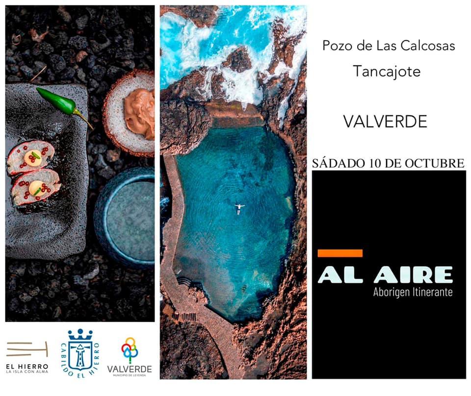 """Turismo El Hierro ofrece la propuesta gastronómica """"Al aire"""" de manos del chef Marcos Tavío"""