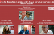 """La Interprofesional del Vino en España presenta su """"Estudio de costes de producción de uva para la elaboración de vino en España"""""""