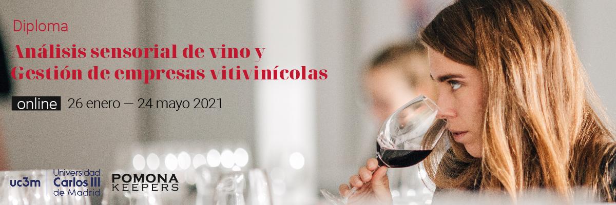 Diploma de Análisis sensorial y gestión de empresas vitivinícolas