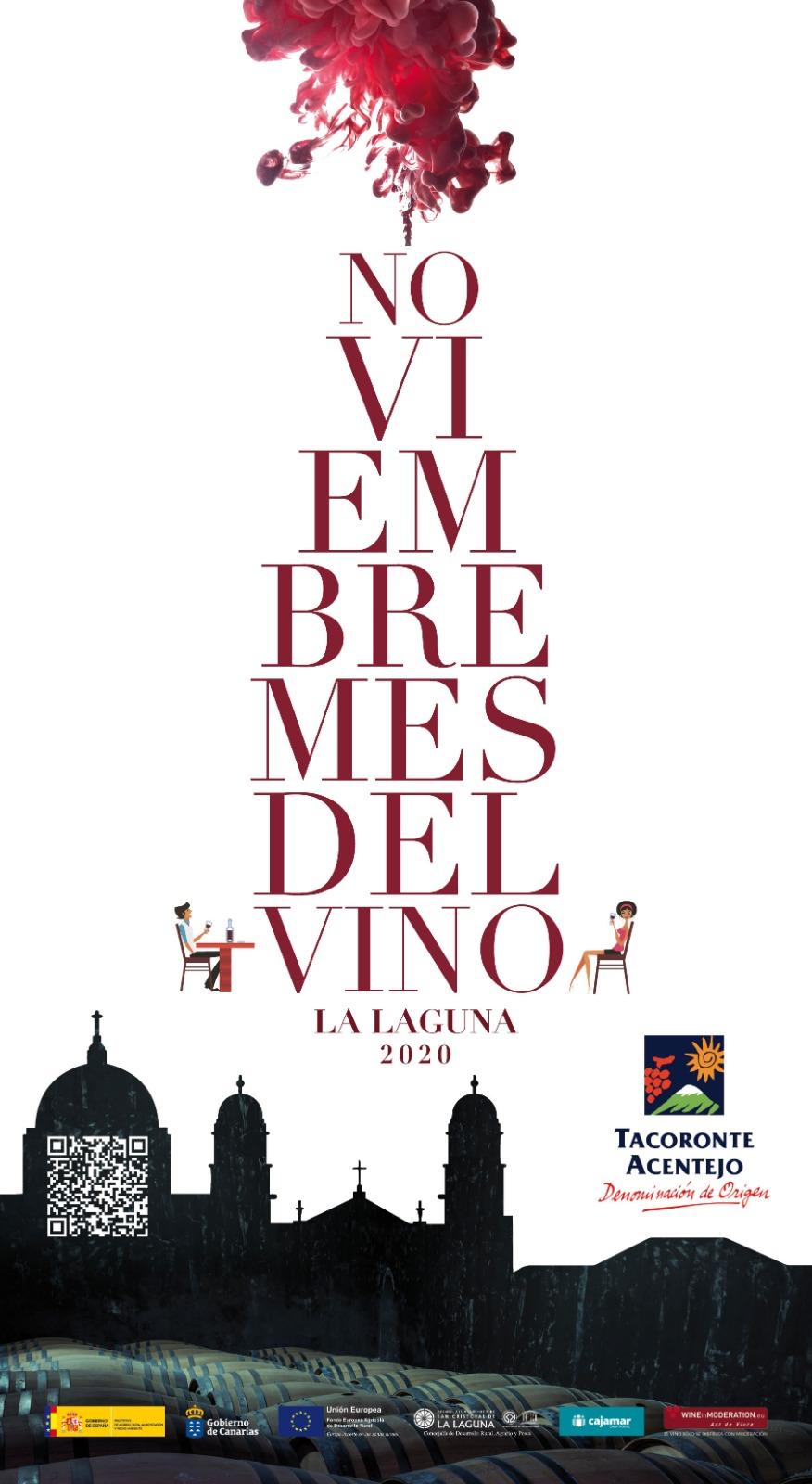 NOVIEMBRE Mes del Vino Tacoronte-Acentejo en La Laguna 2020