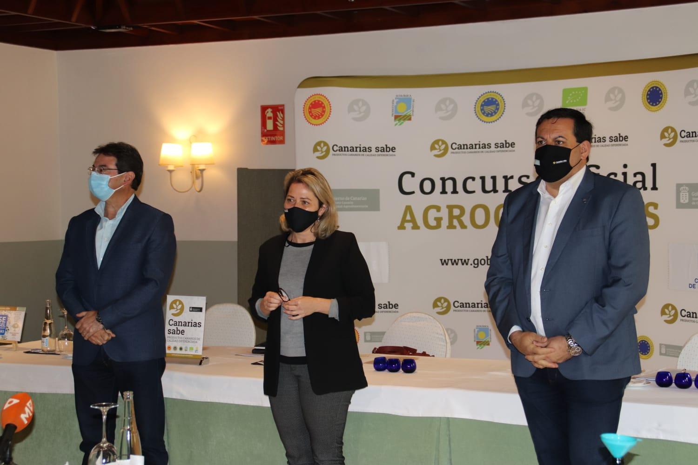 Un total de 12 muestras de aceite de oliva virgen extra compiten por convertirse en la mejor producción de Canarias
