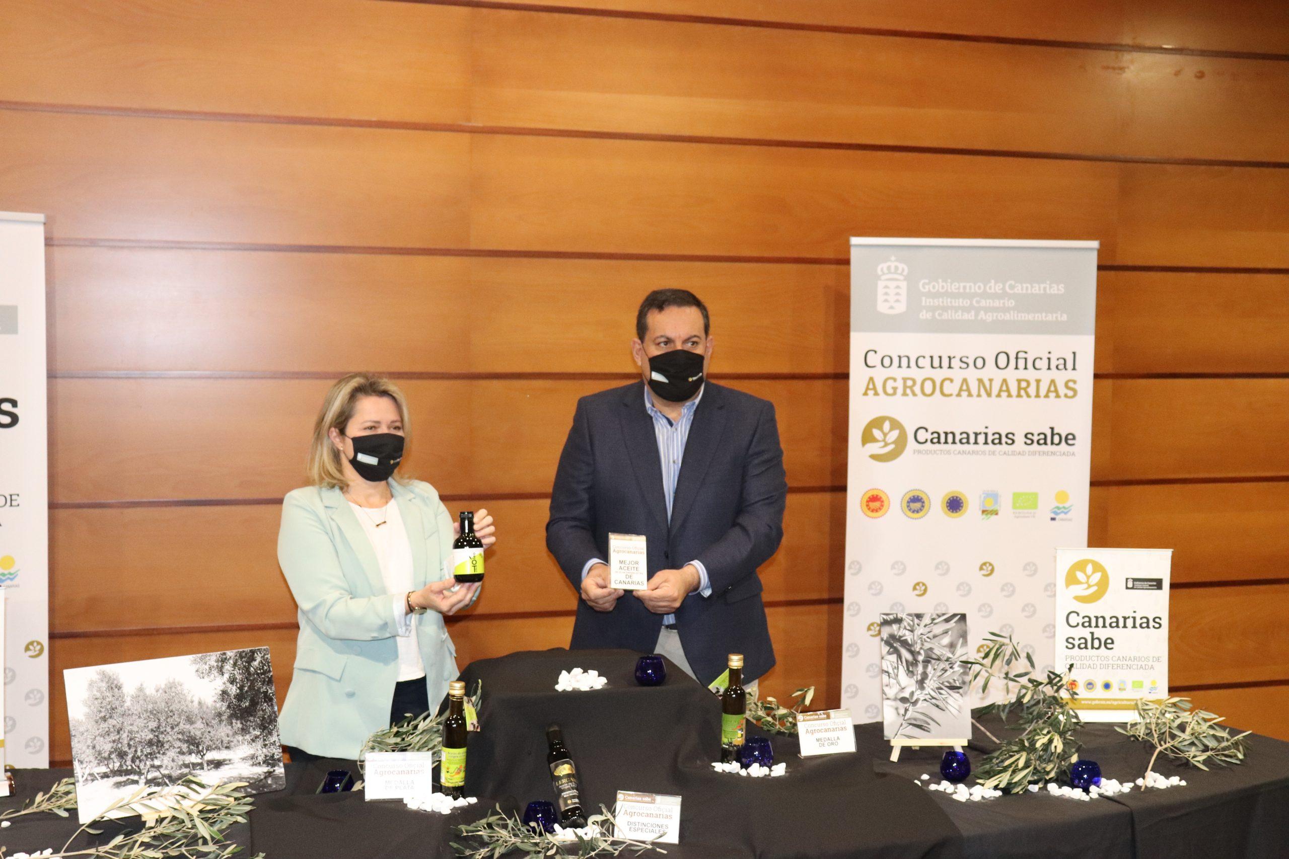 Oleoteide, de Tenerife, el mejor aceite de oliva virgen extra de Canarias
