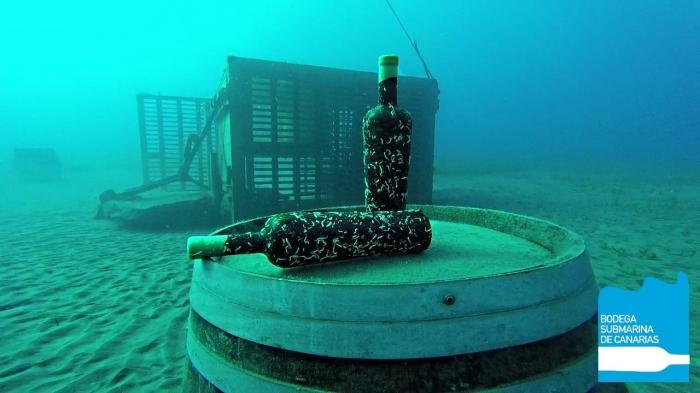 Vino submarino Presas Ocampo: desde el fondo del océano Atlántico para tu mesa