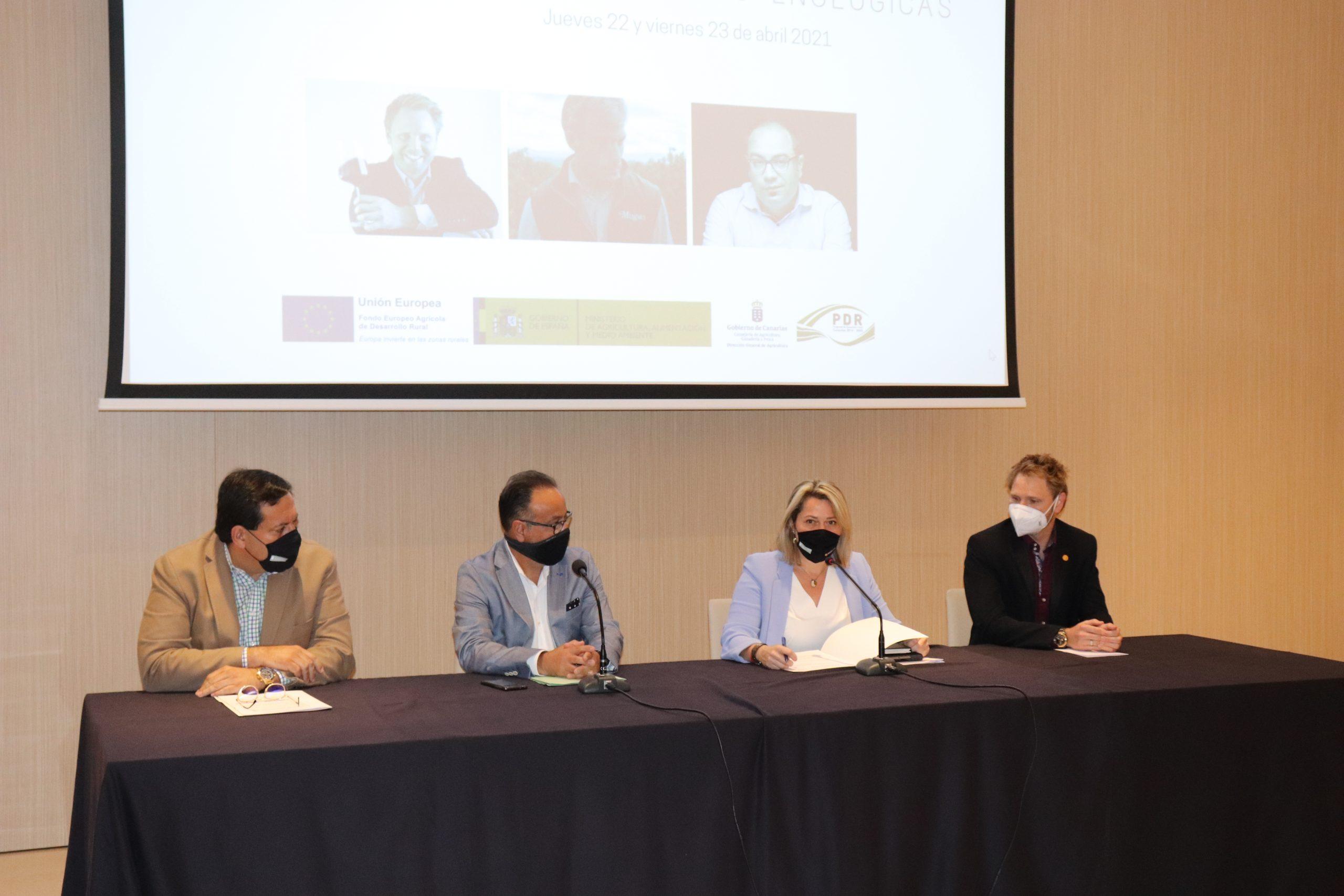 Canarias reúne a las principales referencias nacionales e internacionales en enología