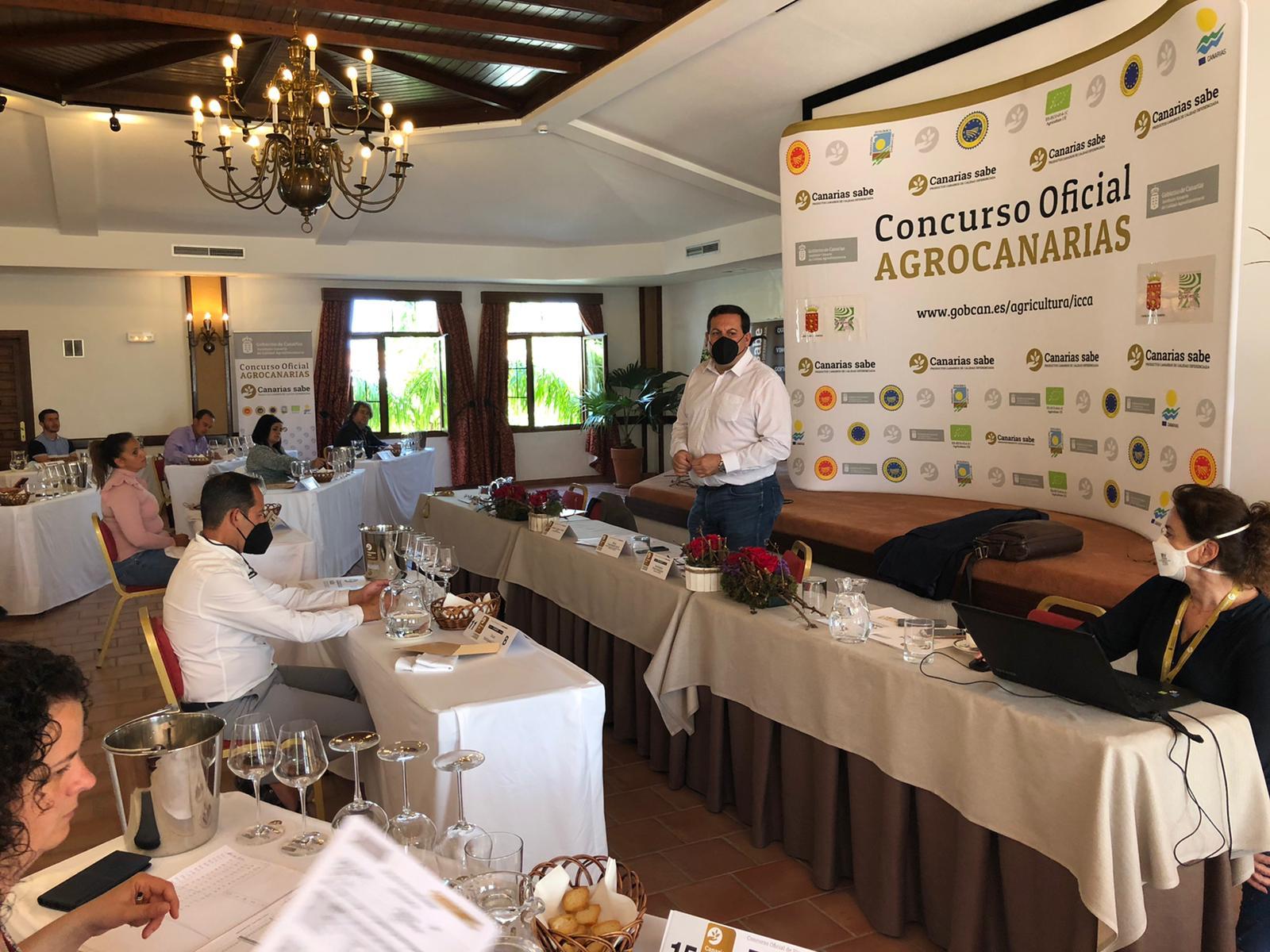 Un total de 181 vinos compiten por convertirse en el mejor de Canarias