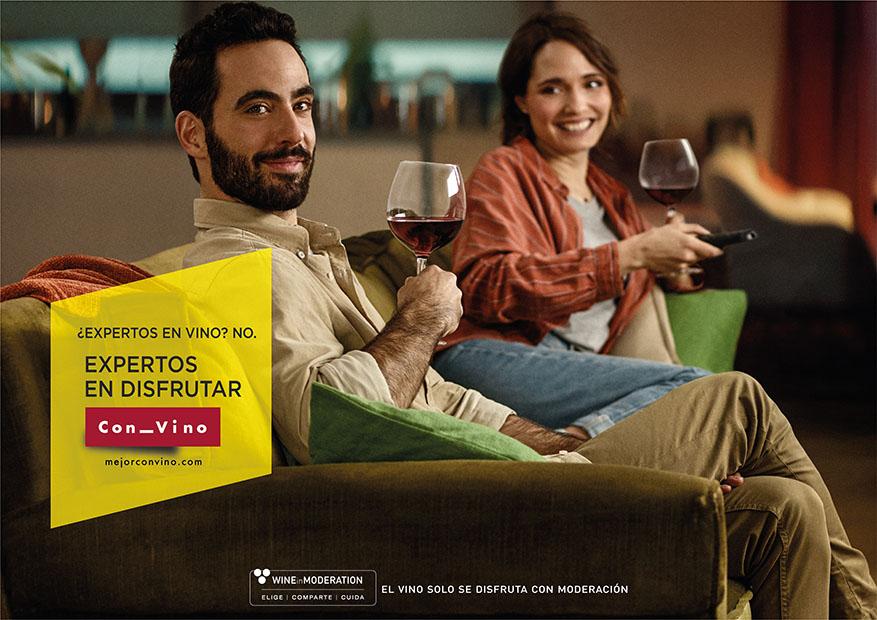 Arranca la campaña de OIVE que nos invita  a valorar más nuestros momentos cotidianos acompañándolos con vino