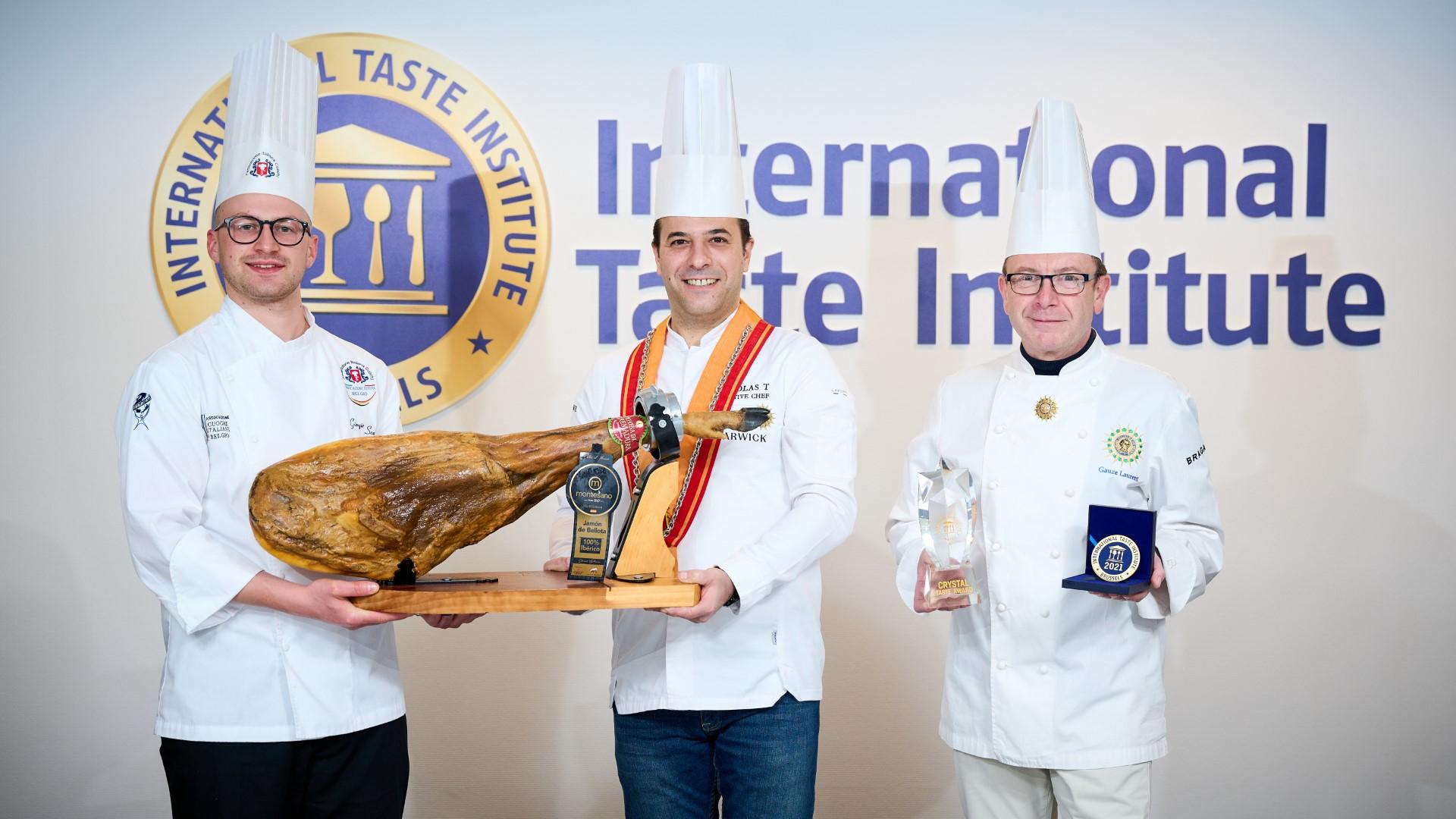 """El jamón 100% ibérico de bellota Montesano Extremadura obtiene el prestigioso """"Crystal Award"""" del International Taste Institute de Bruselas"""