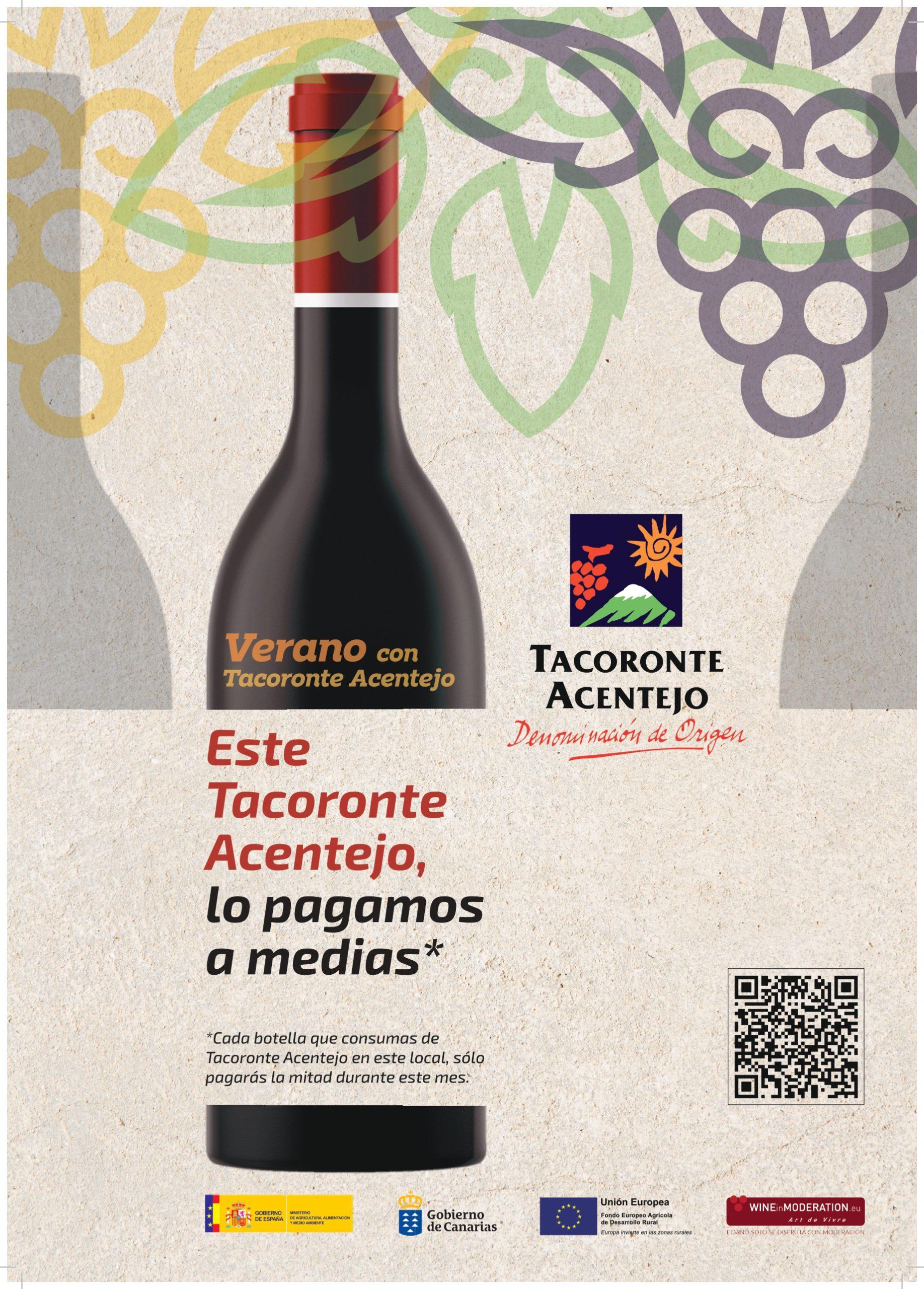 Este Tacoronte-Acentejo lo pagamos a medias en junio en tabernas y restaurantes de la comarca