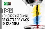 """Convocado el XVIII Concurso Regional de """"Cartas de Vinos de Canarias"""" para Hostelería, Restauración y Tiendas Especializadas"""
