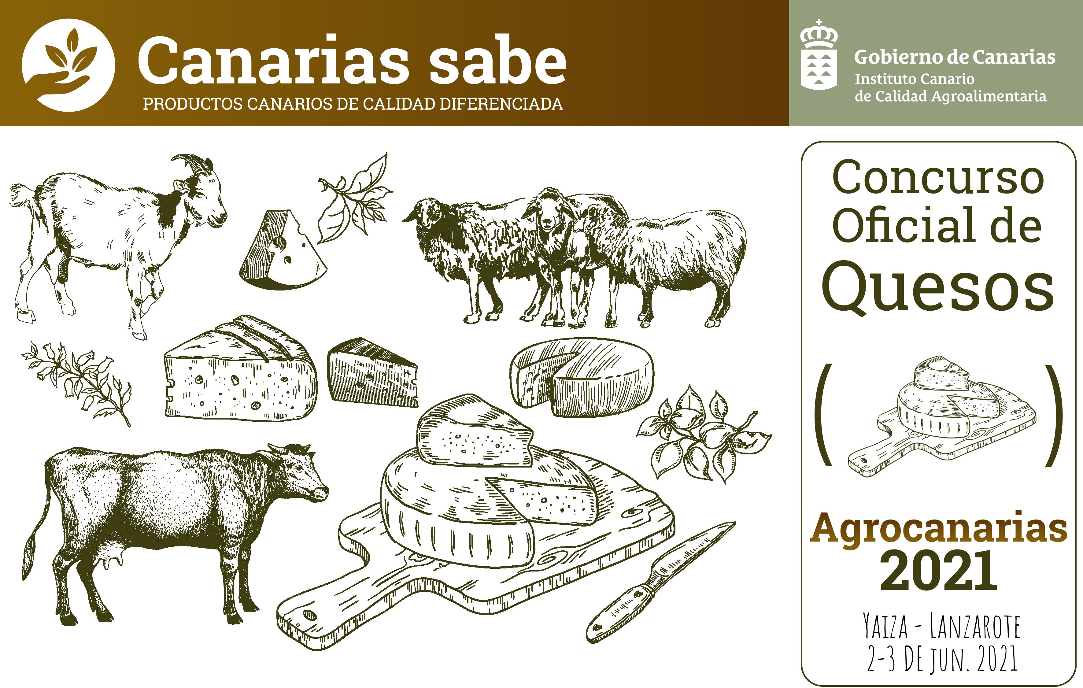 Fallo del Concurso Oficial de Quesos Agrocanarias 2021