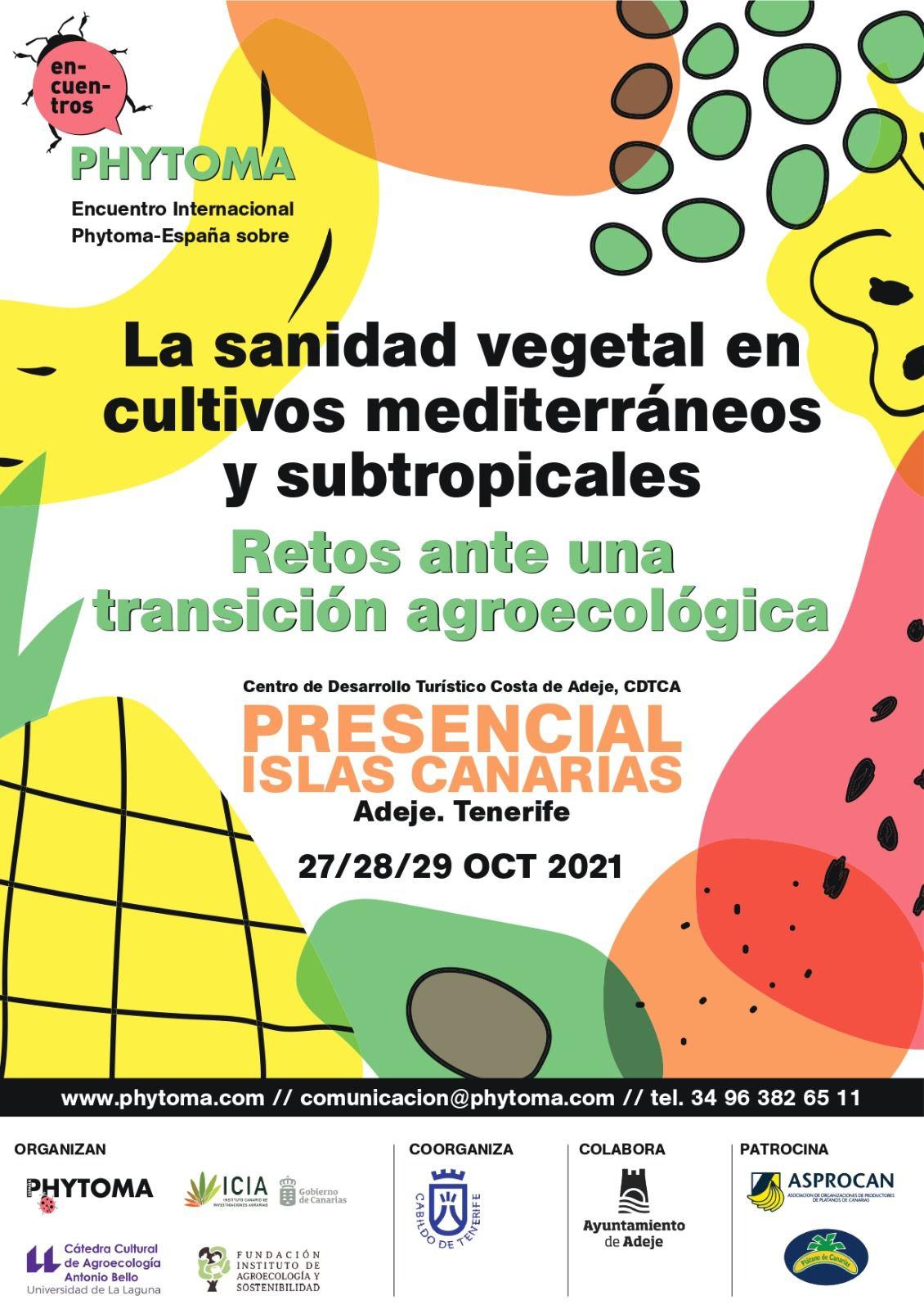 Canarias será la sede de un congreso internacional sobre transición agroecológica y sanidad en los cultivos